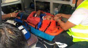 |Moto repartidor lesionado al chocar contra Jetta