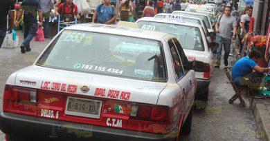No conviene ser taxista en Poza Rica