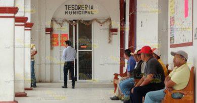 No hay sistema para el pago de impuestos en toda la Sierra del Totonacapan
