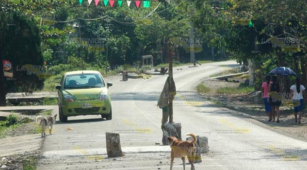 Por seguridad, instalaran más de 10 topes en El Ciruelo, Espinal
