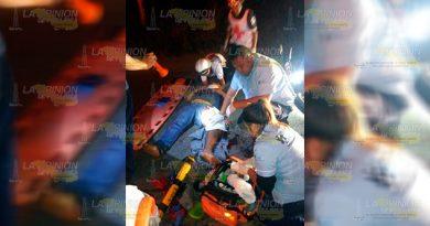 Presunto camión pesado embiste a motociclista en la Álamo - Tihuatlán