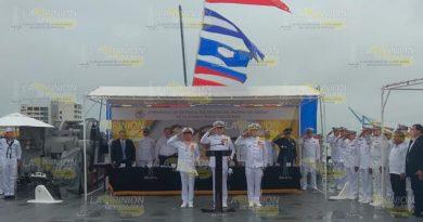 Realizan cambio de armas en la Fuerza Naval del Golfo de Tuxpan