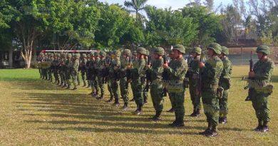 Rechaza SEDENA la militarización