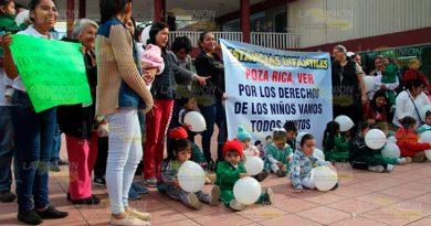 Recortan presupuesto a estancias infantiles