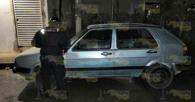 Recuperan vehículo con reporte de robo en Poza Rica