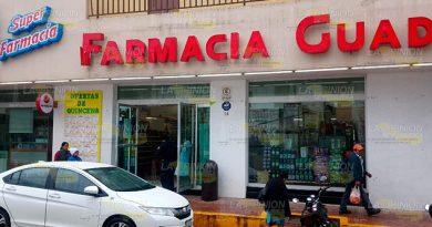 Roban en farmacia de Gutiérrez Zamora