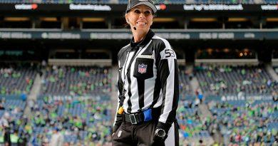 Sarah Thomas será la primera mujer árbitro en los playoffs de la NFL