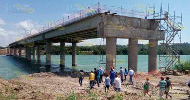 Sigue parada la obra Tuxpan - Tampico