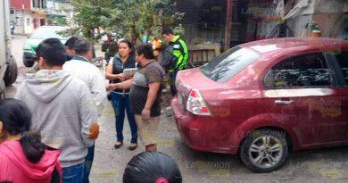 Talleres mecánicos dueños de la calle en Papantla