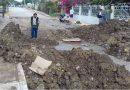 Maquinaria daña línea y deja sin  agua a 7 colonias en Cerro Azul
