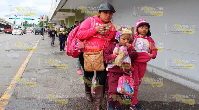En alerta Veracruz y Coatzacoalcos por norte violento, heladas y lluvias en sábado y domingo