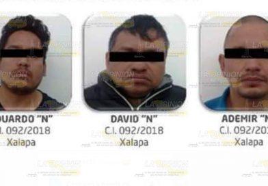 Capturan a banda criminal que operaba en el municipio de Perote