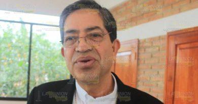 """""""Se está acabando con la podredumbre de la corrupción"""":Obispo de la Diócesis"""