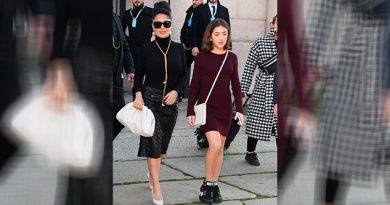 ¡Toda una señorita! Valentina, hija de Salma Hayek sorprende con su estilo