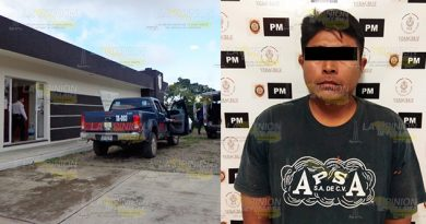 Agricultor mata a golpes a su padre en Ixhuatlán de Madero