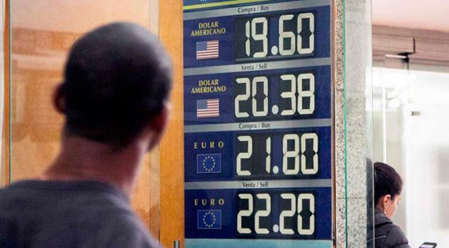 Alcanza el dólar hasta los $19.69 en el AICM