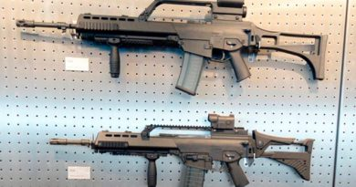 Alemania multa a fábrica de armas que vendió rifles a México