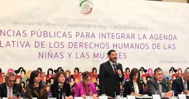 Batres llama a diputados a aprobar feminicidio como delito grave