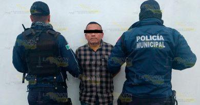 Cae presunto asaltante de taxistas en Martínez de la Torre