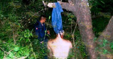 Campesino se colgó de un árbol en Misantla