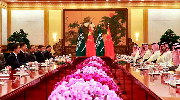China cierra con Arabia Saudí un acuerdo petrolero de 8.800 millones