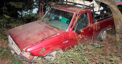 Cinco personas lesionadas en accidente sobre el tramo Pánuco - Tempoal