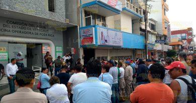 Desapareció el dinero de trabajadores de la CAEV en Poza Rica