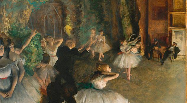 El lado oscuro de las bailarinas de Degas