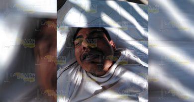 Encuentran a reo muerto en penal de la Huasteca