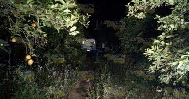 Encuentran cadáver en parcela de una comunidad en Martínez de la Torre