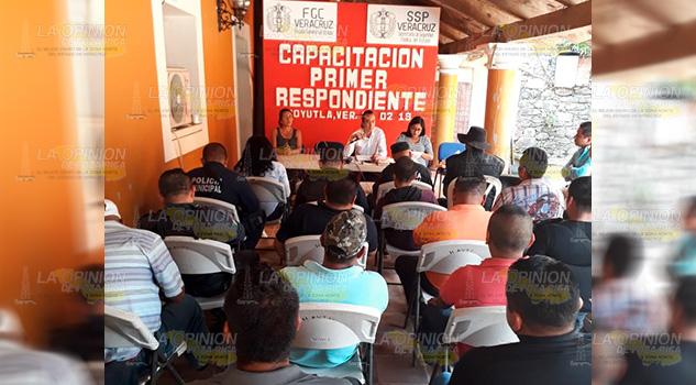 Fiscalía itinerante capacita a policías municipales de la Sierra del Totonacapan (1)