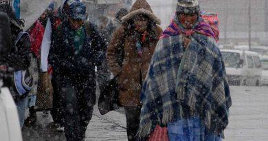Frente frío dejará lluvias y caída de nieve para estos estados