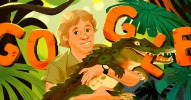 Google le rinde homenaje póstumo al cazador de cocodrilos Steve Irwin