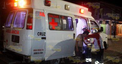 Herido con arma blanca en la colonia Miguel Hidalgo