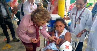 Inicia Semana Nacional de Salud en Poza Rica
