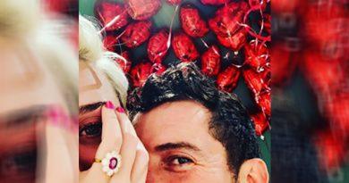 Katy Perry y Orlando Bloom se comprometieron