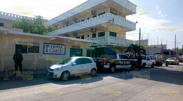 La asesinan en un hotel de Tecolutla