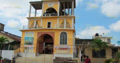 Lenta, pero avanza la obra de la Parroquia en Cerro Azul