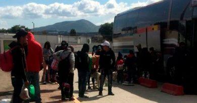 Llegan 250 migrantes a Tamaulipas en busca del sueño americano