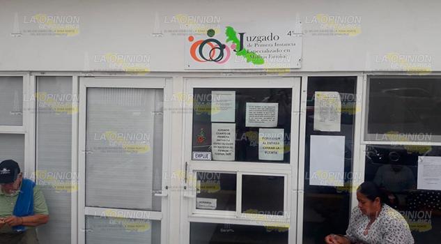 Más varones demandan pensión a mujeres en Tuxpan: Juez