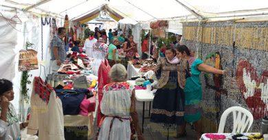 Mujeres reciben apoyos en Papantla, mujeres indígenas son prioridad