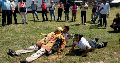 Organismo de emergencia de Cerro Azul, cada vez más preparados