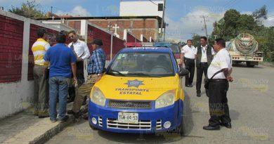 Piso parejo demandan taxistas de Cerro Azul