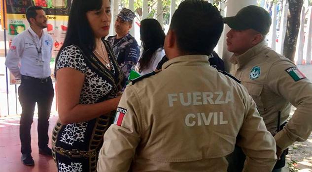 Presentan estrategia de seguridad para el combate de robo a escuelas de Veracruz