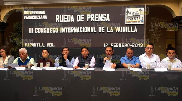 Presentaron programa del III Congreso Internacional de la Vainilla