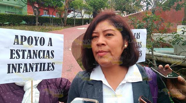 Protestan estancias; no quieren apoyo bimestral