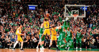 Rajon Rondo da un agónico triunfo a Lakers sobre Boston