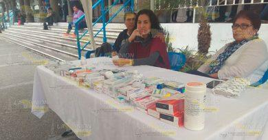 Recauda medicamentos Cereso de Tuxpan