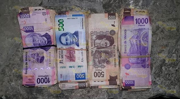 Rescatan a dos personas secuestradas, recuperan 400 mil pesos y hay un detenido