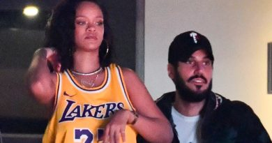 Rihanna se deja ver primera vez en público junto a su novio millonario